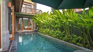 Private 2 bedrooms villa in Umalas area