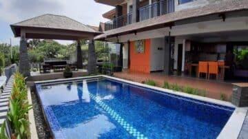 beautiful 3 bedroom villa in Jimbaran with ocean view