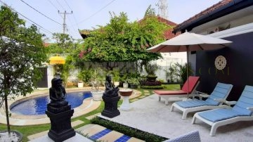 Beautiful Beach-side villa in Sanur