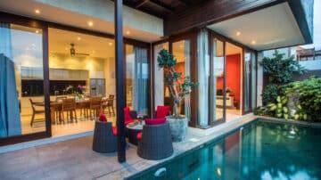 Modern 3 bedroom villa in Berawa
