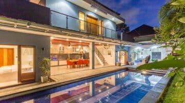 beautiful 3.5 bedroom villa in kerobokan