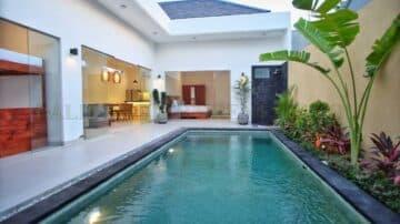 Brand new modern style villa in Kerobokan