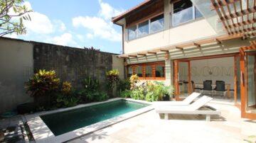 Private Villa with Rice Field View