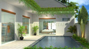 Brand new build modern style villa in Kerobokan