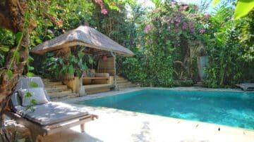 3 bedroom tropical villa on the Beach Side of Sanur