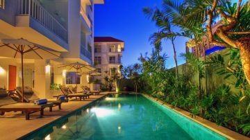 3+2 bedroom apartment in legian