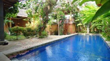 3 bedroom garden villa in Sanur