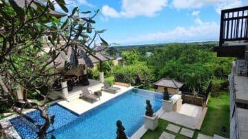 Luxury 4 bedroom villa in Bukit Jimbaran with Ocean View
