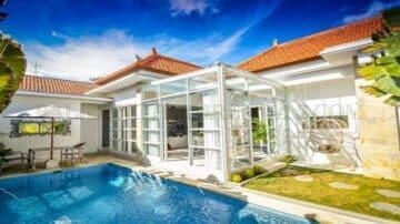 2 Bedroom bright villa