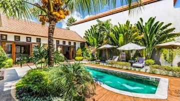 3 bedroom villa for monthly rental in Berawa
