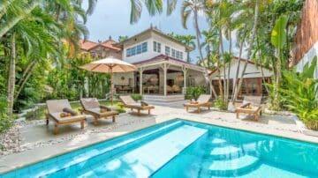 6 Bedrom Villa for monthly rental near Double Six Beach