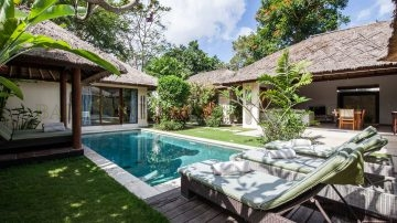 Charming 3 bedrooms villa in Umalas available for monthly and yearly rent