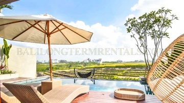 Walking distance to the beach and Amazing Ricefield Views!