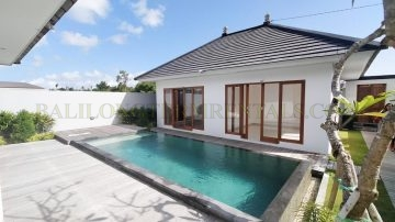 3 bedroom villa for yearly rental with rice field view and within walking distance to the beach