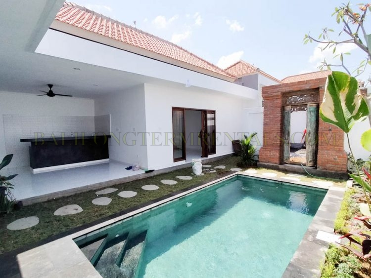 Brand New 3 Bedroom Villa For Yearly Rental In Canggu