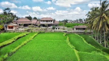 Amazing villa with spectacular green view – Ubud