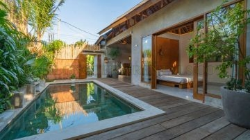 Private 2 Bedroom Villa – in Good Jimbaran Location