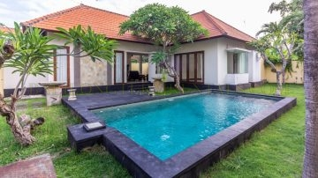 3 Bedroom Villa in Sanur With Sapcious Garden