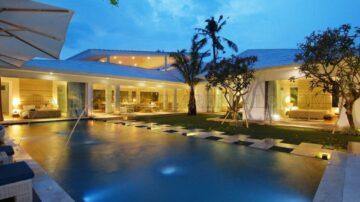 A stunning European architecturally designed luxury villa