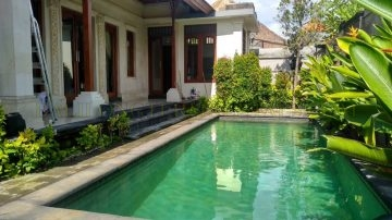 4 Bedroom Semifurnished Villa in West Sanur