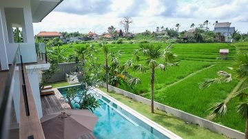 LUXURY VILLA WITH RICE FIELD VIEW